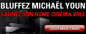 Tournoi gratuit PokerStars : Bluffez Michael Youn